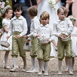 "AFP/""Scanpix"" nuotr./Princas George'as (centre)"