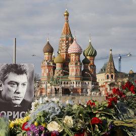 """""""Reuters""""/""""Scanpix"""" nuotr./Boriso Nemcovo nužudymas"""