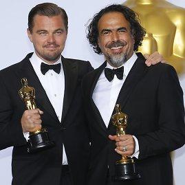 """Reuters""/""Scanpix"" nuotr./Leonardo DiCaprio ir Alejandro Gonzalezas Inarritu"