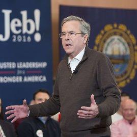 """AFP/""""Scanpix"""" nuotr./Kandidatai į JAV prezidento postą agitavo Naujajame Hampšyre"""