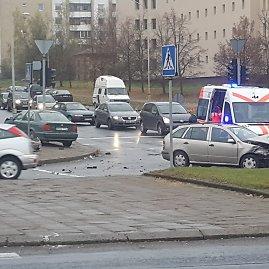 Įvykio liudininko Petro P. nuotr./Įvykio vietoje