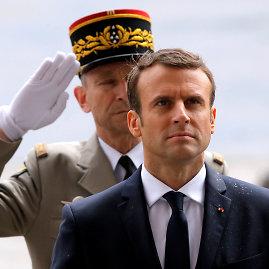 """Reuters""/""Scanpix"" nuotr./Emmanuelio Macrono inauguracija"