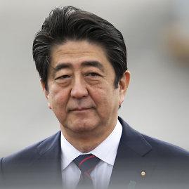 """Scanpix""/AP nuotr./Japonijos premjeras Shinzo Abe"