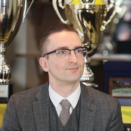 Alvydo Januševičiaus nuotr./Edvinas Eimontas, LFF prezidentas