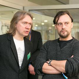 Juliaus Kalinsko / 15min nuotr./Algirdas Barniškis ir Ugnius Liogė