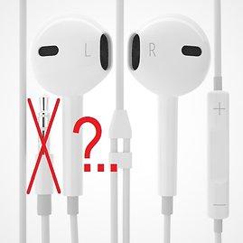 "Varle.lt iliustr./""iPhone 7"" neturės garso jungties."