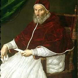 LEM iliustr./Popiežius Grigalius XIII 1582 m. reformavo Julijaus kalendorių. /Wikipedia.com