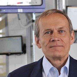 """""""Transeksta"""" valdybos pirmininkas Antanas Dadurka."""
