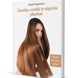 Nijolės Degutienės knyga apie plaukus