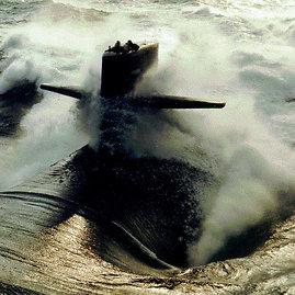 """wikipedia.org/JAV laivyno (U.S. Navy) nuotr./JAV povandeninis laivas """"USS Providence"""""""