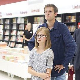 Irmanto Gelūno/15min.lt nuotr./Andrius Tapinas su dukra