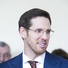 Irmanto Gelūno / 15min nuotr./Prekybos įmonių asociacijos vykdantysis direktorius Laurynas Vilimas