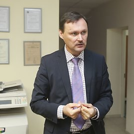 Irmanto Gelūno / 15min nuotr./Radiacijos fono matavimai Vilniuje