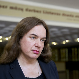 Irmanto Gelūno / 15min nuotr./Teisingumo ministrė Milda Vainiutė