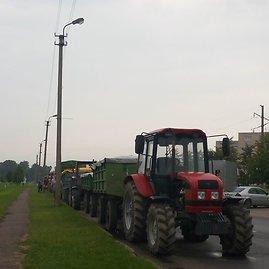 Kupiškio r. PK nuotr./Kupiškio pareigūnės bendravo su vietos ūkininkais