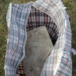 Liucijos Burbienės nuotr./Paliktas krepšys su gyvsidabriu