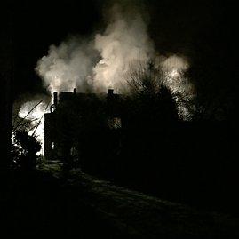 Roko Kavaliausko nuotr./Daugiabučio gaisras