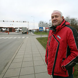Eriko Ovčarenko/15min.lt nuotr./Rusijos pilietis