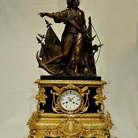 Laikrodžių muziejaus nuotr./A.Boso kolekcijos laikrodis