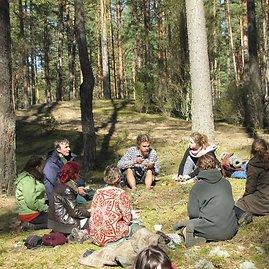 Baltijos aplinkos forumo nuotr./Žygeiviai