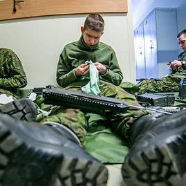 Juliaus Kalinsko / 15min nuotr./Lietuvos Didziojo kunigaikscio Kestucio motorizuotasis pestininku batalionas