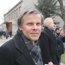 Juliaus Kalinsko/15min.lt nuotr./Vilniaus rajono tarybos narys Gintaras Karosas