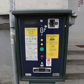 Juliaus Kalinsko/15min.lt nuotr./Parkavimo automatas