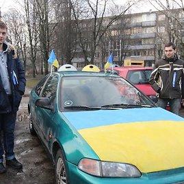 """Juliaus Kalinsko/15min.lt nuotr./Ukrainos žurnalistai sekmadienį dalyvaus Vilniaus """"Automaidane"""""""