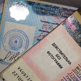 """Komandos nuotr./""""Dukumų rijikų"""" pasuose – viso kelionės maršruto vizos"""