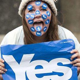 """AFP/""""Scanpix"""" nuotr./Referendumas dėl Škotijos nepriklausomybės"""