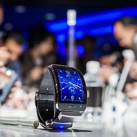 "AFP/""Scanpix"" nuotr./""Samsung Gear S"" laikrodis"