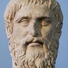 Wikimedia.org nuotr./Platoną vaizduojanti skulptūra