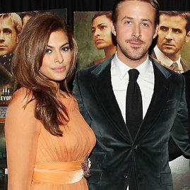 Vida Press nuotr./Eva Mendes ir Ryanas Goslingas
