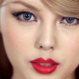 Video kadras/Taylor Swift įkvėptas makiažas