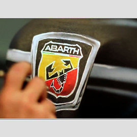 """""""Scanpix""""/""""Caters News Agency"""" nuotr./""""Abarth"""" logotipas"""