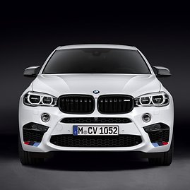"BMW X6 su ""M Performance"" apdaila"