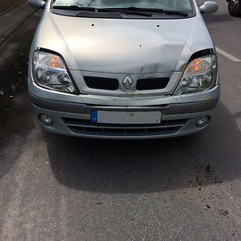 """Avarijoje apgadintas """"Renault Scenic"""""""