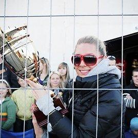 Prie trofėjų Kristina Barauskaitė pripratusi
