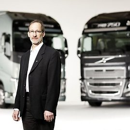 """Volvo Trucks"" nuotr./""Volvo Trucks"" Eismo ir produktų saugumo direktorius Carlas Johanas Almqvistas"