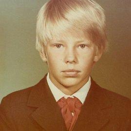 Asmeninio albumo nuotr./Paauglys Giedrius Masalskis – pionierius