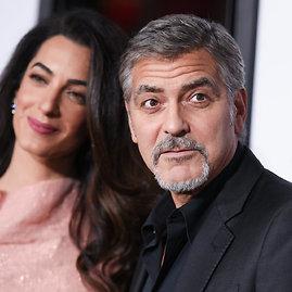 """Scanpix""/""Sipa USA"" nuotr./Amal ir George'as Clooney"