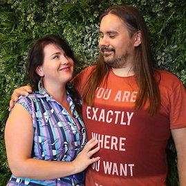 Jurgitos Lapienytės nuotr./Gintaras Svalbonas su žmona