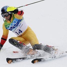 Kanadietis slidininkas Michaelas Janykas