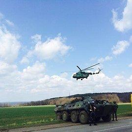 Iljos Varlamovo/Facebook nuotr./Ukrainos pajėgos Slavianske