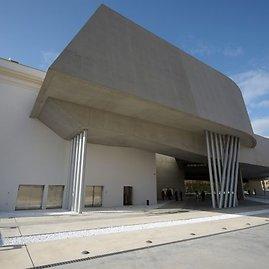 Zahos Hadid Maxxi meno centras Romoje