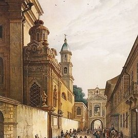 Aušros vartai 1847 metais