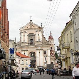 Vilnius. Šv. Teresės bažnyčia