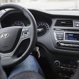 """Luko Balandžio/15min.lt nuotr./""""Hyundai i20"""""""