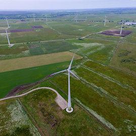 Luko Balandžio / 15min nuotr./Artūro Skardžiaus sklypas ir vėjo jėgainių parkas Šilutės rajone