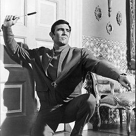 Kadras iš filmo/Antrasis Bondas – George'as Lazenby